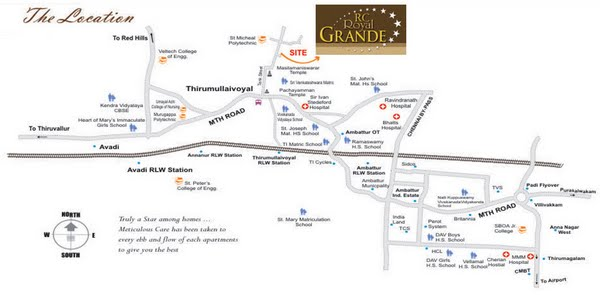 Photo - RC Royal Grande Location Map