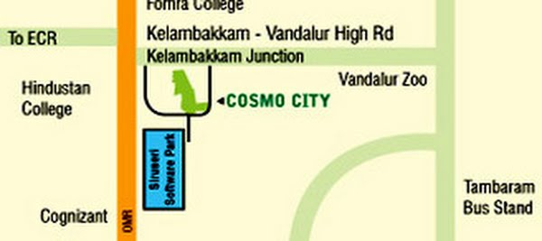 Photo - Provident Housing CosmoCity Location Map