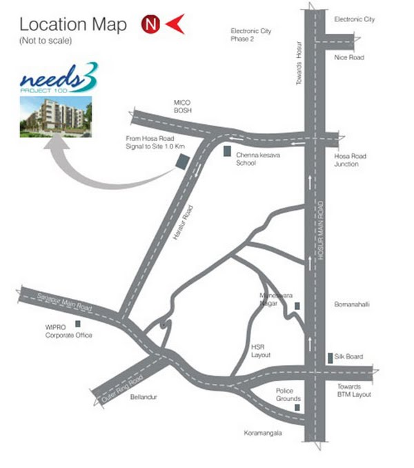 Photo - DS & Jaks Constructions Needs 3 Project 100 Location Map